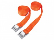 BlueSpot Tools Cam Buckle Tie Down Straps Twin Pack 2.5m