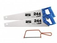 Bahco 2 x 244 Hardpoint Handsaw 500mm (20in) & 1 x 239 Junior Saw 150mm (6in)