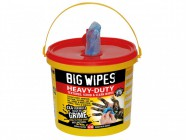 Big Wipes 4x4 Heavy-Duty Cleaning Wipes Bucket of 240