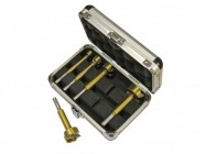 Faithfull Forstner Bit Set of 5 in Aluminium Case