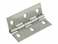 Forge Butt Hinge Polished Chrome Finish 100mm (4in) Pack of 2