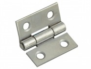 Forge Butt Hinge Polished Chrome Finish 25mm (1in) Pack of 2