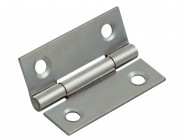 Forge Butt Hinge Polished Chrome Finish 50mm (2in) Pack of 2