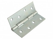 Forge Butt Hinge Steel Zinc Plated 100mm (4in) Pack of 2