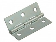 Forge Butt Hinge Steel Zinc Plated 75mm (3in) Pack of 2