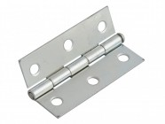 Forge Loose Pin Butt Hinge Zinc Plated 75mm (3in) Pack of 2