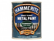 Hammerite Direct to Rust Hammered Finish Metal Paint Dark Green 750ml