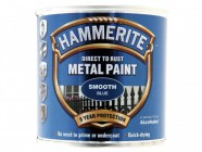 Hammerite Direct to Rust Smooth Finish Metal Paint Blue 250ml