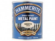 Hammerite Direct to Rust Smooth Finish Metal Paint Cream 750ml