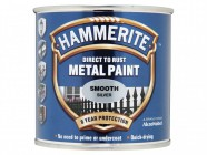 Hammerite Direct to Rust Smooth Finish Metal Paint Silver 750ml
