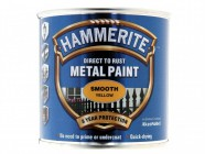 Hammerite Direct to Rust Smooth Finish Metal Paint Yellow 250ml