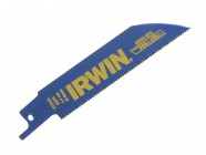 IRWIN 418R Sabre Saw Blade Metal Cutting Pack of 5