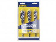 IRWIN 6x Blue Groove Wood Drill Bit Set of 3: 20, 22 & 25mm