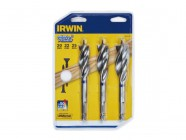 IRWIN Blue Groove Wood Power Bit Set of 3: 20, 22 & 25mm