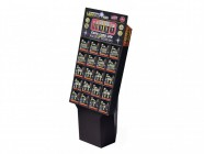 Lighthouse Alkaline Battery Display Stand + 20 Batteries