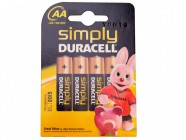 Miscellaneous AA Alkaline Duracell RePack MN1500 Batteries Pack of 4