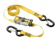 Master Lock Ratchet Tie Down + S Hooks 3m (Pack of 2)