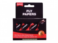 Rentokil Flypapers (Pack of 8)