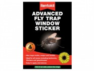 Rentokil Advanced Window Fly Traps (Pack of 4)