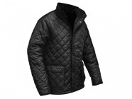 Roughneck Clothing Quilted Jacket Black - L
