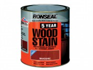 Ronseal 5 Year Woodstain Mahogany 2.5 Litre