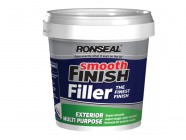 Ronseal Smooth Finish Exterior Multi Purpose Ready Mix Filler Tub 1.2kg
