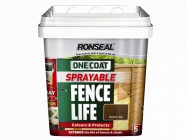 Ronseal One Coat Sprayable Fencelife Forest Green 5 Litre