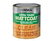 Ronseal Ultra Tough Internal Clear Mattcoat Varnish 2.5 Litre