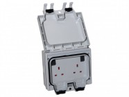 SMJ IP66 Double Gang 13A Socket