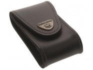 Victorinox Black Leather Belt Pouch (5-8 Layer)