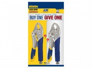 "IRWIN Vise-Grip 10CR Fast Releaseâ""¢ Locking Pliers Set of 2"
