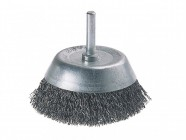 Wolfcraft 2108-000 Wire Cup Brush 75mm x 6mm Shank