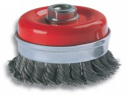 Wolfcraft 2150 Wire Cup Brush 100mm x M14