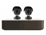 Yale Alarms YEFY402BHD 4 Channel DVR Kit with 2 x 24 LED HD Enhanced Night Vision Cameras