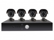 Yale Alarms Y804A-HD 8 Channel DVR Kit with 4 x 24 LED HD Enhanced Night Vision Cameras