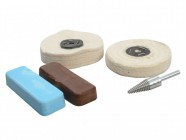 Zenith Profin Polishing Kit Ferrous Metal - Grey & Pink