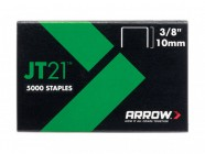 Arrow JT21 T27 Staples 10mm (3/8in) Box 1000