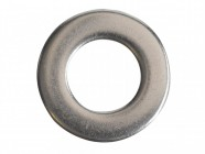 Forgefix Flat Washers DIN125 A2 Stainless Steel M10 Forge Pack 20