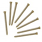 BAYONET SOLID BRASS PANEL PINS 15MM 30G