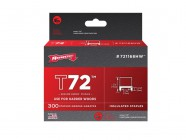 Arrow T72 Insulated Staples 5mm x 12mm Box 300