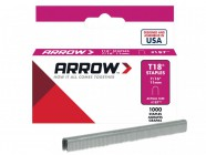 Arrow T18 Staples 11mm (7/16in) Box 1000