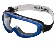 Bollé Safety Atom Safety Goggles Clear - Ventilated Foam Seal