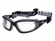 Bollé Safety Tracker Safety Glasses Vented Clear