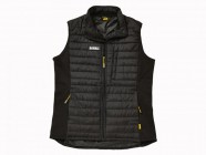 DEWALT Force Black Lightweight Padded Gilet XXLarge