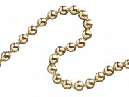 Faithfull Ball Chain Polished Brass 3.2mm x 10m