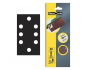 Flexovit 1/3 Sanding Sheets 93 x 185mm Quick Release Medium 80g (6)