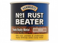 Hammerite No.1 Rust Beater Paint Beige 250ml