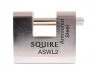 Henry Squire ASWL2 Warehouse Padlock 80mm Steel Armoured