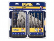 IRWIN Speedhammer Power Drill Bit Set of 9:  5.0-12.0mm