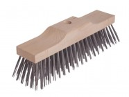 Lessmann Broom Head Raised Wooden Stock 6 Row 300mm x 70mm